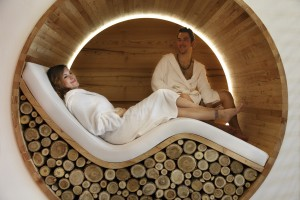 Centro benessere area relax