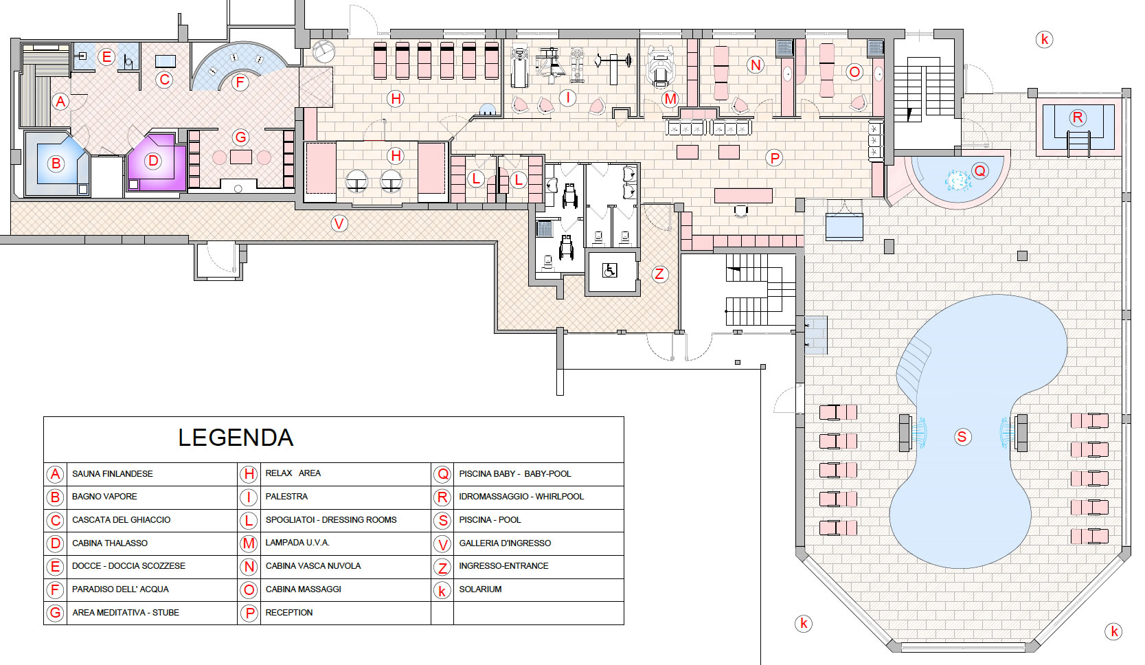 Mappa Gardenia Spa